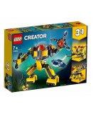 LEGO CREATOR 31090 LE ROBOT SOUS-MARIN