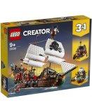 LEGO CREATOR 31109 LE BATEAU PIRATE