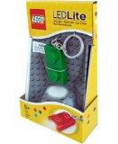 LEGO PORTE CLE MINI LAMPE DE POCHE - BRIQUE VERTE