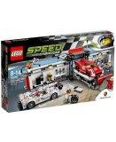 LEGO SPEED CHAMPIONS 75876 LE STAND DE LA PORSCHE 919 HYBRID ET 917K