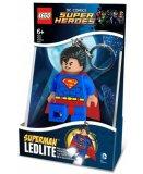 LEGO SUPER HEROES PORTE CLE MINI LAMPE DE POCHE - SUPERMAN