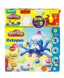 OCTOPUS LA PIEUVRE PLAY-DOH + 4 POTS BONUS - PATE A MODELER - HASBRO - 20472