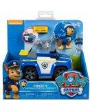 PAT PATROUILLE CHASE ET LE 4X4 DE POLICE - FIGURINE CHIEN - PAW PATROL - SPIN MASTER - 20093764