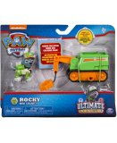 PAT PATROUILLE ULTIMATE ROCKY ET SON CAMION GRUE - FIGURINE CHIEN - PAW PATROL - SPIN MASTER - 20101482