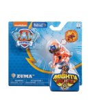 PAT PATROUILLE ZUMA MIGHTY PUPS AVEC BADGE ET PATTES LUMINEUX - FIGURINE CHIEN - PAW PATROL - SPIN MASTER - 20107730