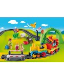 PLAYMOBIL 1.2.3 70179 TRAIN AVEC PASSAGERS ET CIRCUIT