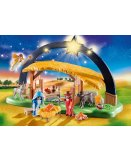 PLAYMOBIL CHRISTMAS 9494 CRECHE AVEC ILLUMINATION