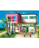 Jouet playmobil city maison 5575 piscine avec terrasse for Maison moderne 5574