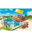 City life playmobil 5579 chambre denfant avec lit mezzanine for Piscine 5575