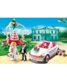PLAYMOBIL CITY LIFE 6871 COUPLE DE MARIES AVEC VOITURE