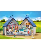 PLAYMOBIL CITY LIFE 70111 RESTAURANT TRANSPORTABLE