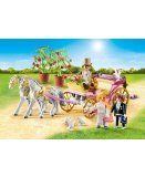 PLAYMOBIL CITY LIFE MARIAGE 9427 CARROSSE ET COUPLE DE MARIES