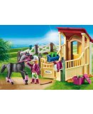 PLAYMOBIL COUNTRY 6934 BOX AVEC CAVALIERE ET PUR-SANG ARABE