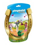 PLAYMOBIL COUNTRY 6969 PONEY A DECORER COEUR