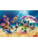 PLAYMOBIL MAGIC 70095 COQUILLAGE LUMINEUX AVEC SIRENES