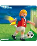 PLAYMOBIL SPORTIFS 4722 JOUEUR DE FOOTBALL EQUIPE TCHEQUIE
