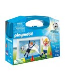 PLAYMOBIL SPORTS & ACTION 5654 VALISETTE FOOTBALLEUR
