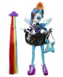 POUPEE RAINBOW DASH COIFFURE ROCK - RAINBOW ROCKS - MY LITTLE PONY EQUESTRIA GIRLS - HASBRO - B1038