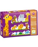 PUZZLE ANIMAUX PETITS ET GRANDS 10 PIECES - DJECO - DJ08167