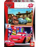 PUZZLE CARS 2 2 X 48 PIECES - EDUCA - 14939