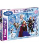 PUZZLE DISNEY BRILLANT - LA REINE DES NEIGES - 104 PIECES - CLEMENTONI - 20127
