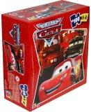 PUZZLE DISNEY CARS 2 MARTIN ET FLASH MCQUEEN - 100 PIECES - MATTEL - M8039