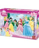 PUZZLE DISNEY LES PRINCESSES 24 PIECES - KING - 5160A