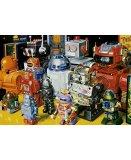 PUZZLE LES ROBOTS 1000 PIECES - COLLECTION JOUET - EDUCA - 15979