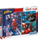 PUZZLE SPIDERMAN 3 X 48 PIECES - CLEMENTONI COLLECTION SUPER HEROS SPIDER-MAN - 25238