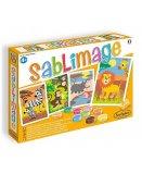 SABLIMAGE FAUNE AFRICAINE - SABLE COLORE - SENTOSPHERE - 881 - LOISIR CREATIF