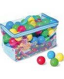 SAC DE 100 BALLES MULTICOLORES EN PLASTIQUE - TENTE A BALLES