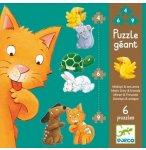 6 PUZZLES GEANTS - MISTIGRI ET SES AMIS 4 - 6 - 9 PIECES - DJECO - DJ07113