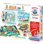 8 JEUX EN 1 - AGITATEUR DE NEURONES - CLEMENTONI - 62238