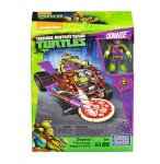BUGGY A PIZZA DE DONATELLO - TORTUES NINJA - MEGA BLOKS - DMX37 - JEU DE CONSTRUCTION
