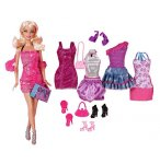 COFFRET POUPEE BARBIE STAR DE LA MODE ET TENUES - MATTEL - X4850
