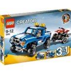 LEGO CREATOR 5893 LE TOUT TERRAIN ET SON QUAD