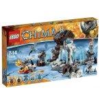 LEGO LEGENDS OF CHIMA 70226 LA FORTERESSE GLACEE DU MAMMOUTH