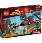 LEGO SUPER HEROES 76016 LE SAUVETAGE EN SPIDER-HELICOPTERE