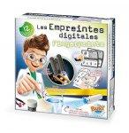 LES EMPREINTES DIGITALES - ENQUETES POLICE - BUKI SCIENCES - 7101