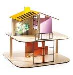 MAISON DE POUPEES EN BOIS COLOR HOUSE - PETIT HOME - DJECO - DJ07803