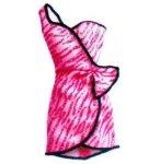MATTEL - BCN45 - BARBIE - ACCESSOIRE POUPEE - ROBE DE SOIREE ROSE A PAILLETTES