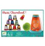 MAXI CHAMBOUL ANIMAUX - JEU DE CHAMBOULE TOUT GEANT - DJECO - DJ02011