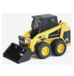 MINI CHARGEUR CATERPILLAR - BRUDER - 02431 - VEHICULE DE CHANTIER