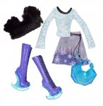 MONSTER HIGH HABIT ABBEY BOMINABLE - UNIFORME - ACCESSOIRE POUPEE - MATTEL - X3662