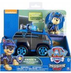 PAT PATROUILLE CHASE ET LE TOUT TERRAIN POLICE - FIGURINE CHIEN - PAW MISSION - SPIN MASTER - 20079026