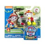 PAT PATROUILLE JUNGLE MARCUS AVEC SAC A DOS - FIGURINE CHIEN - PAW PATROL - SPIN MASTER - 20075125