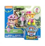 PAT PATROUILLE JUNGLE STELLA AVEC SAC A DOS - FIGURINE CHIEN - PAW PATROL - SPIN MASTER - 20075127