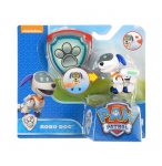 PAT PATROUILLE ROBO DOG AVEC SAC A DOS ET BADGE - FIGURINE CHIEN - PAW PATROL - SPIN MASTER - 20072051