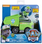 PAT PATROUILLE ROCKY AVEC CAMION BENNE RECYCLAGE - FIGURINE CHIEN - PAW PATROL - SPIN MASTER - 20087719