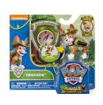 PAT PATROUILLE TRACKER AVEC SAC A DOS ET BADGE - FIGURINE CHIEN - PAW PATROL - SPIN MASTER - 20071448